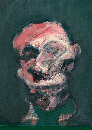 Francis Bacon, Head of a Man, 1959