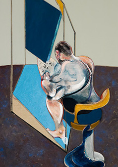 Francis Bacon, Three Studies of the Male Back, 1970