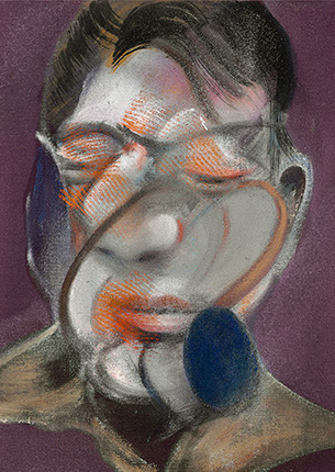 Francis Bacon, Three Studies for Self-Portrait, 1974