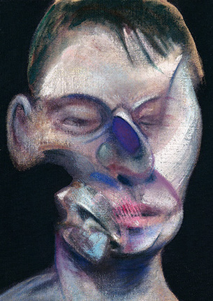 Francis Bacon, Three Studies for Self-Portrait, 1975