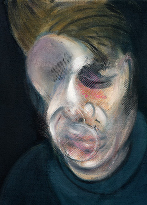 Francis Bacon, Two Studies for Self-Portrait, 1977
