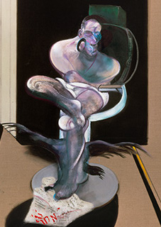 Francis Bacon, Seated Figure, 1977