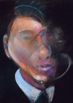 Francis Bacon, Study for Self-Portrait, 1980