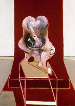 Francis Bacon, Triptych Inspired by the Oresteia of Aeschylus, 1981
