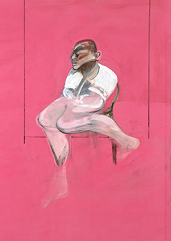 Francis Bacon, 'Study for Portrait of John Edwards', c.1984