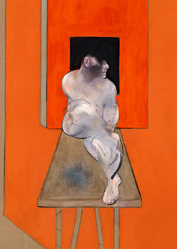 Francis Bacon, Study from the Male Body, 1986