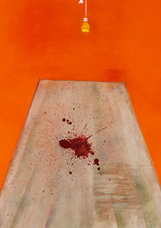 Francis Bacon, Blood on the Floor - Painting, 1986