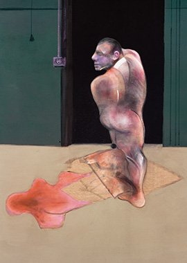 Francis Bacon, Study for Portrait of John Edwards, 1986