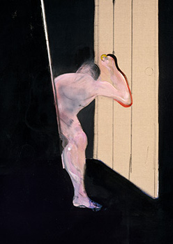 Francis Bacon, 'Figure Opening Door', c.1987