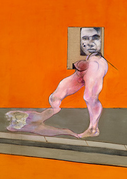 Francis Bacon, Study from the Human Body and Portrait, 1988