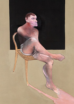 Francis Bacon, Portrait of John Edwards, 1988