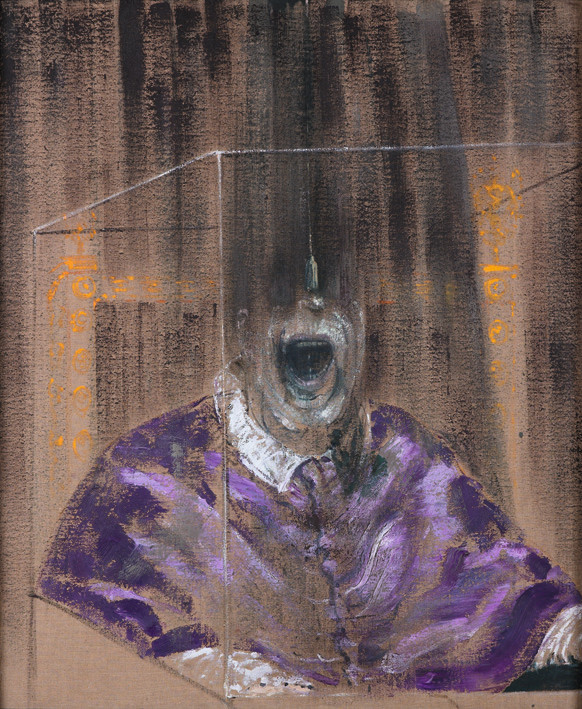 Francis Bacon, Head VI, 1949. Oil on Canvas, © The Estate of Francis Bacon / DACS London 2017. All rights reserved. Catalogue Raisonné number: 49-07.