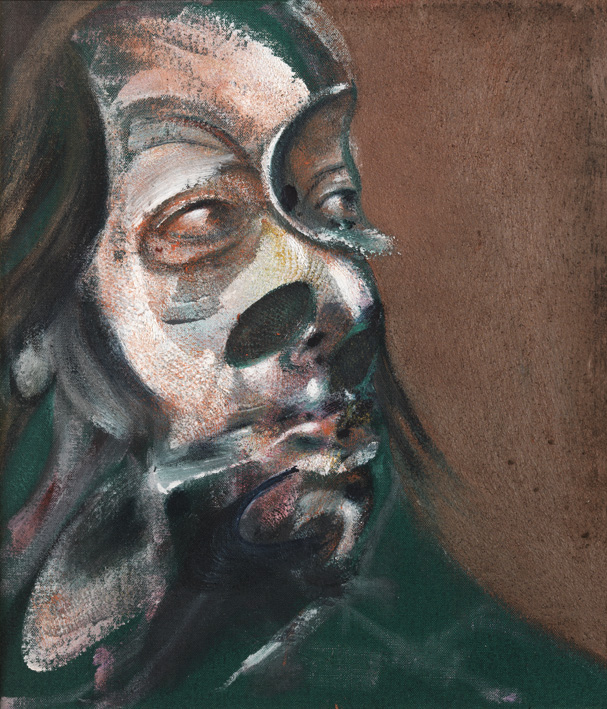 Francis Bacon, Study of Isabel Rawsthorne, 1966. Oil on canvas.