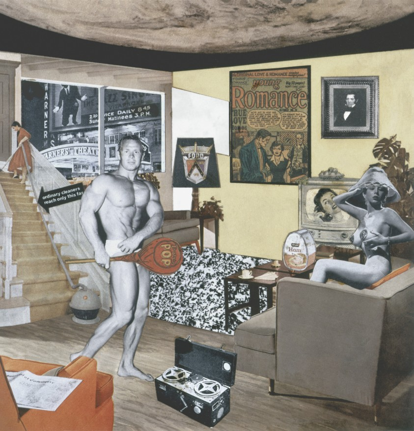 Richard Hamilton, Just what is it that makes today's home so different, so appealing?, 1956