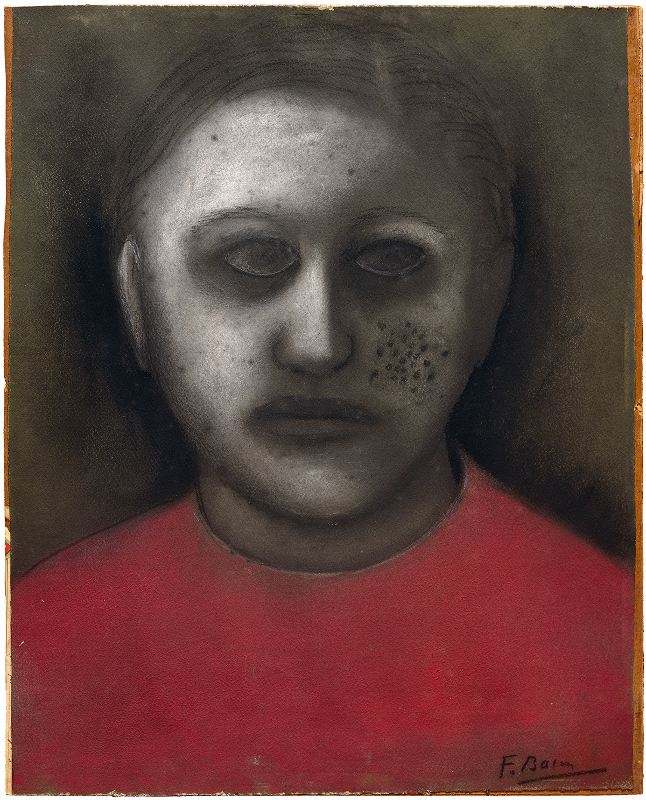 Decorative image: Francis Bacon, 'Portrait' C. 1930.