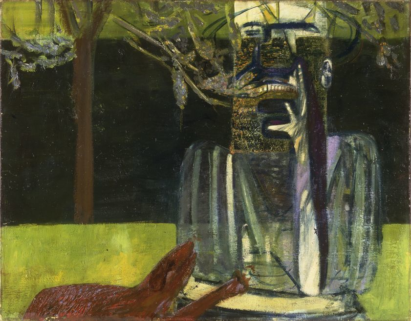 On display: Francis Bacon, Figures in a Garden, c. 1935. Oil, egg tempera and wax on canvas. CR number 35-01. © The Estate of Francis Bacon / DACS London 2020. All rights reserved.