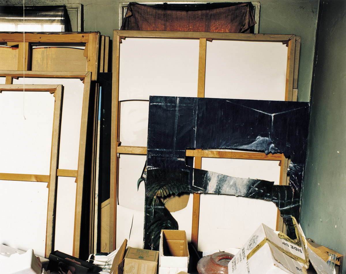 Image: Francis Bacon's 7 Reece Mews Studio, photographed by Perry Ogden.
