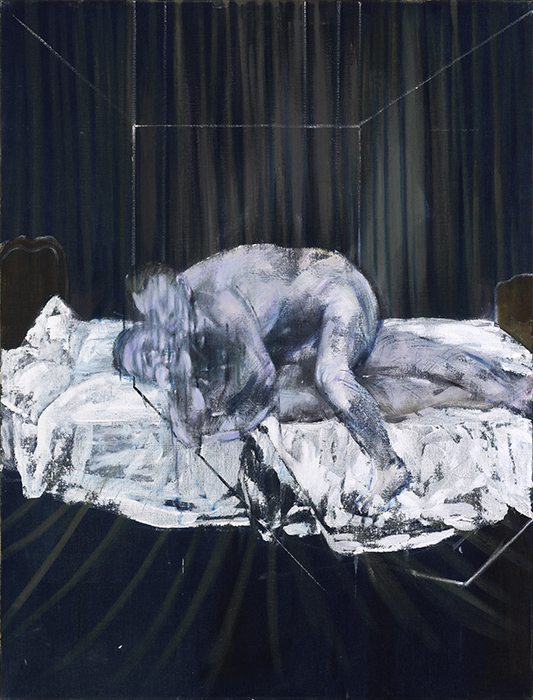 Francis Bacon, Two Figures, 1953. Oil on canvas. © The Estate of Francis Bacon / DACS London 2017. All rights reserved. Catalogue Raisonné Number 53-24.