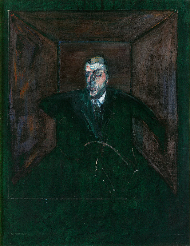 Decorative image: Francis Bacon's oil on canvas painting Study for Figure VI, 1956-57.