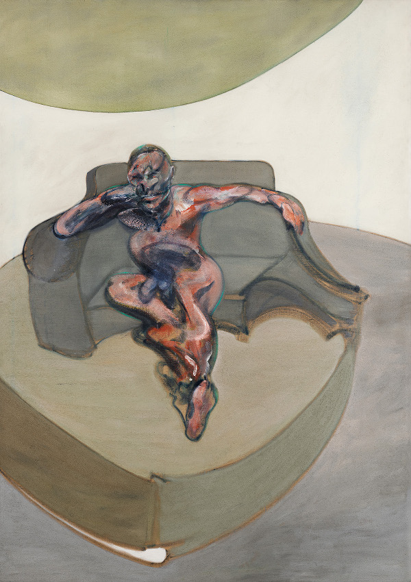 Decorative image: Francis Bacon's oil on canvas painting, Portrait, 1962.