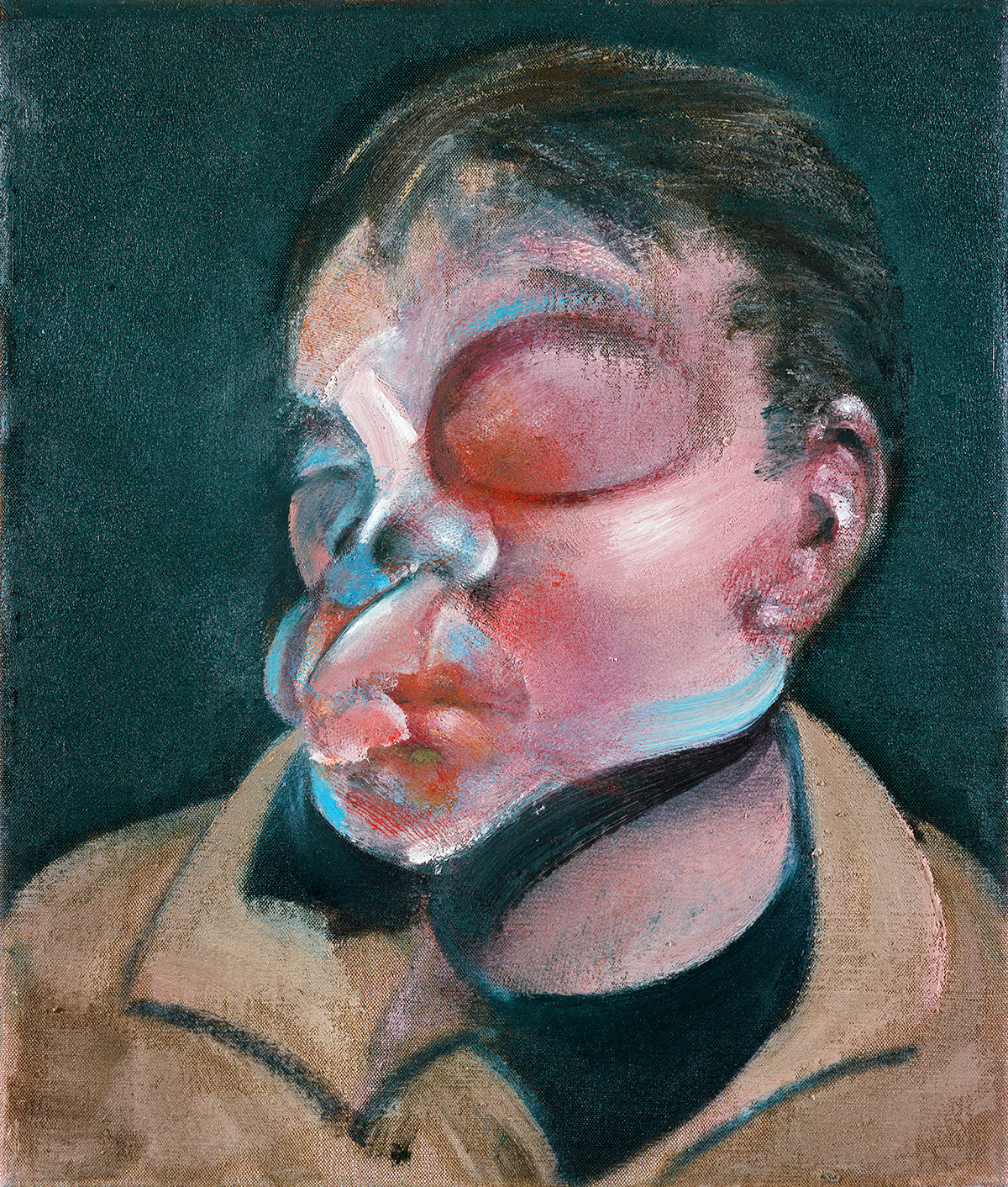 Francis Bacon, Self- Portrait with Injured Eye, 1972. Oil on canvas.  CR no 72-02. © The Estate of Francis Bacon/ DACS London 2019. All rights reserved.