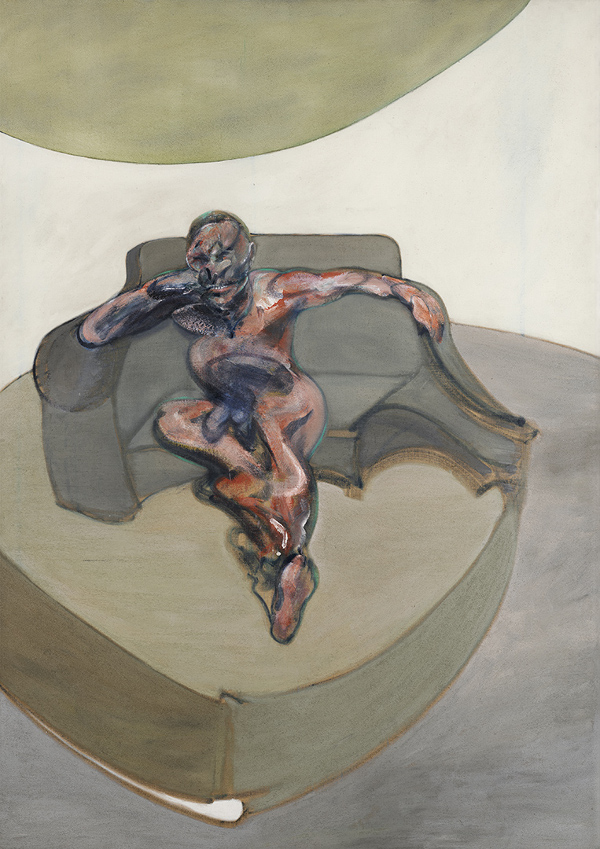 Francis Bacon, Portrait, 1962. Oil on canvas.