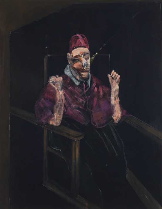 Francis Bacon, 'Study for Portrait, 1957'. Oil on canvas.