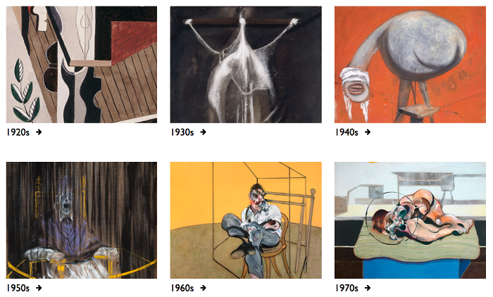 Francis-Bacon.com now featuring all 584 of Bacon's works.