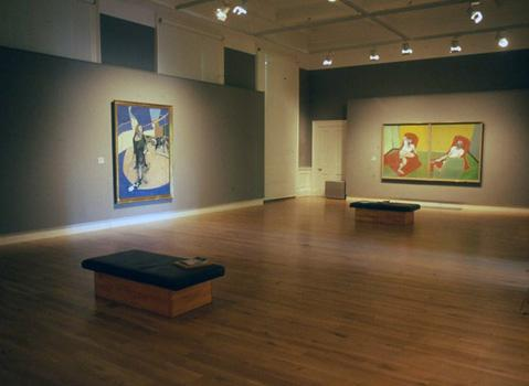 Installation shot from Portraits and Heads including 64-03 Double Portrait and 67-14 Street in Soho