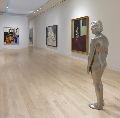 Installation view of 'Nude: From Modigliani to Currin', Gagosian, Madison Avenue, New York, 20 September – 19 November, 2016 (feat 62-06)