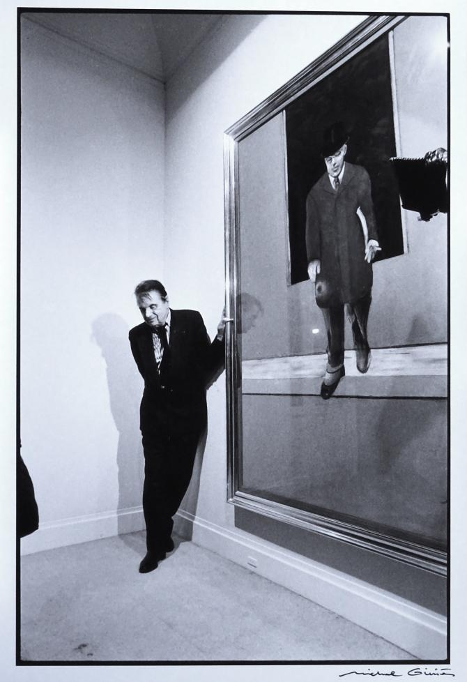 Francis Bacon at Galerie Maeght-Lelong, by Michel Ginies