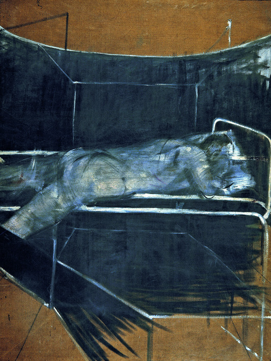 Francis Bacon, 'Lying Figure' c.1953, © The Estate of Francis Bacon / DACS London 2014. All rights reserved.
