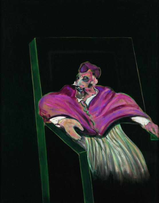Francis Bacon, 'Study for a Pope III' 1961, oil on canvas, © The Estate of Francis Bacon / DACS London 2014. All rights reserved.