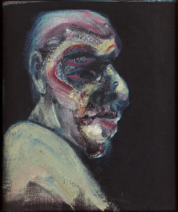 Francis Bacon, Head of a Man No 1, 1960. Oil paint on canvas. © The Estate of Francis Bacon / DACS London 2015. All rights reserved.