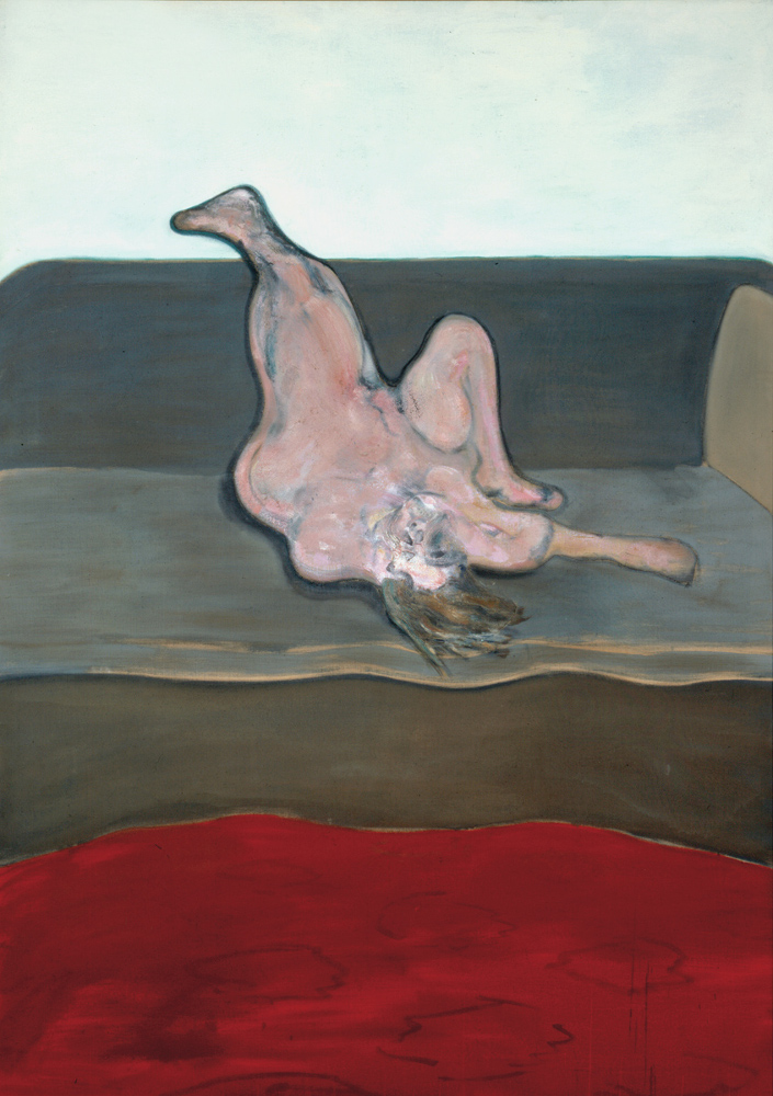 Francis Bacon, Reclining Woman 1961. Oil paint on canvas. © The Estate of Francis Bacon / DACS London 2015. All rights reserved.