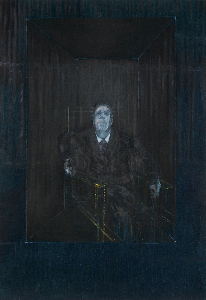 Francis Bacon, Study for a Portrait,1953. Oil on canvas. © The Estate of Francis Bacon. All rights reserved, DACS 2015